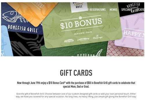 Bonefish Grill Gift Card Balance Check Lamoureph Blog