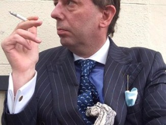 CAUGHT ON CAMERA! Racist drunk English toff lawyer done for train rant against mum and young son