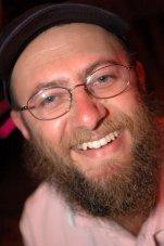 David Cyrpys at gay event