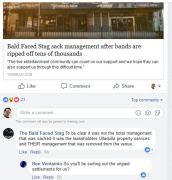 Ben Veniamin questions landlords of Bald Faced Stag