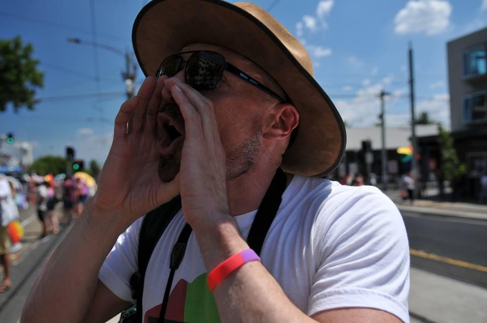 Tony Pitman arrested after yelling at Liberals at Midsumma