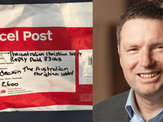 FROM NO TO WOE! How the Australian Christian Lobby was undone by a postal hoax over gay marriage
