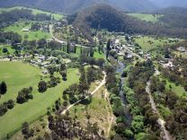 Mitta Mitta from the air (Image: Supplied)