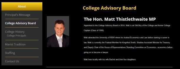 Marist Brothers Advisory Board 2