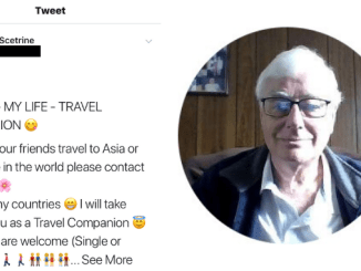 """DADDY BALLARAT""! Sent to prison for raping 4 boys, former journo & convicted pedo William Scetrine builds social media following in thousands & now searching for ""friends"" to take around Asia"