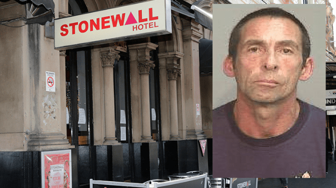 CONVICTED KILLER VISITED OXFORD ST GAY BAR JUST HOURS AFTER REMOVING BRACELET! Double murderer Damien Peters arrested after late night visit to Stonewall Hotel