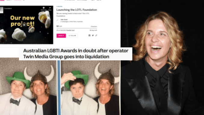 "After sham LGBTI Awards go bust, lesbian media publisher Silke Bader now begging for tens of thousands of dollars to start so-called ""foundation"""