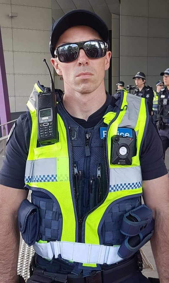 NOT OKAY AT ALL! Fears of fascist infiltration of Victoria Police as officer who flashed suspected 'White Power' sign at female protestor revealed as Alt-Right fan