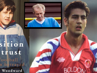 """I'D BE LYING IF I DIDN'T SAY IT WAS A POSSIBILITY""! Footballer Andy Woodward talks about paedophile rings in sport & surviving evil coach Barry Bennell"
