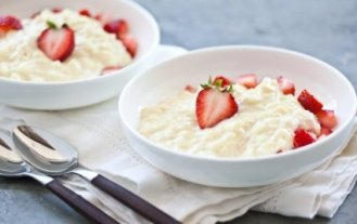 Sweet Strawberry Risotto