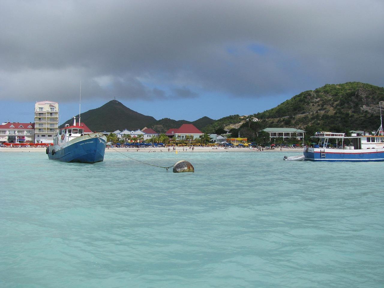 A incrível ilha de Sint Maarten/Saint Martin