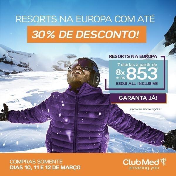 Ski All Inclusive na Europa – ClubMed