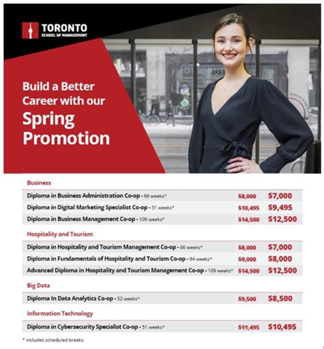 Spring Promotion TSoM