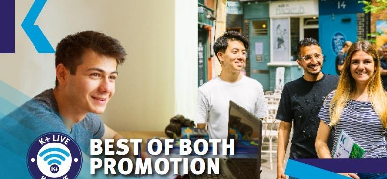Promoção Best Of Both – Kaplan