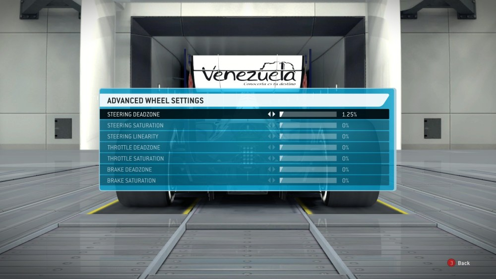 Logitech Driving Force GT Settings for F1 2013 (3/4)