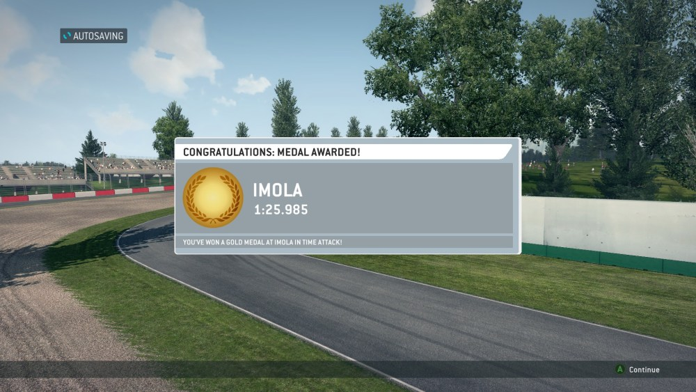 Gold Medals in Every Time Attack (F1 Classics) in F1 2013 (Screenshots Included) (3/3)