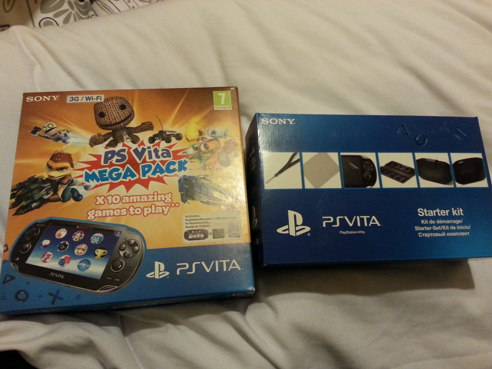The PS Vita Is Here! (1/5)