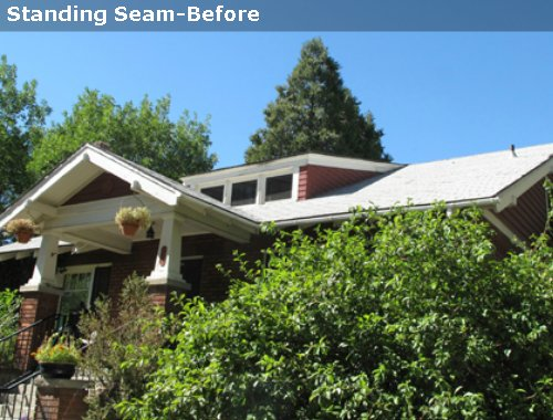 Standing Seam - Before