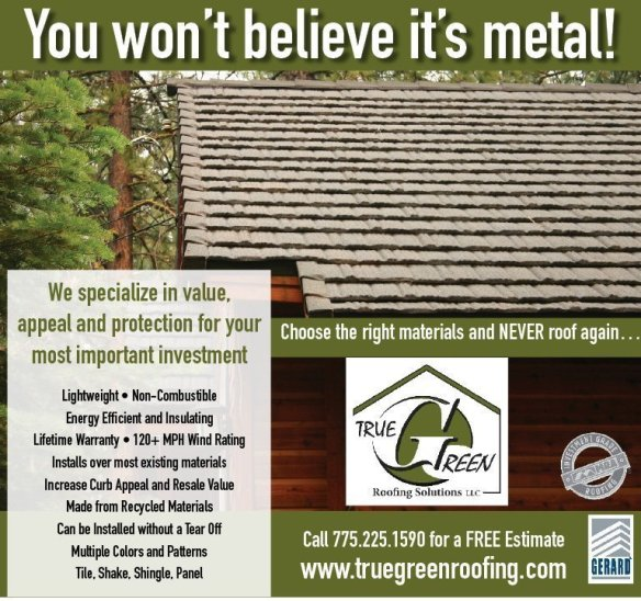 Cold Springs NV won't believe its metal roof