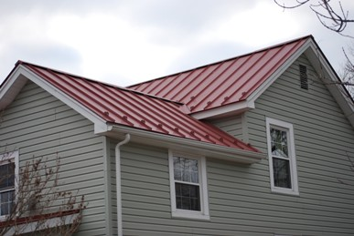 Crystal Bay Metal roof completed job.