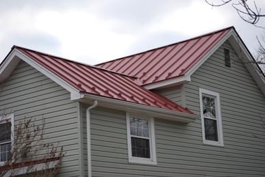 Golden Valley Metal roof completed job.