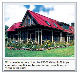 Appreciate Your Home with Quality Metal Roofing
