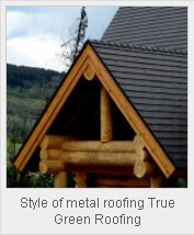 'Green' Homeowners Turn to 'Green' Metal Roofing