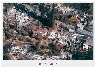 1991 Oakland CA Fire