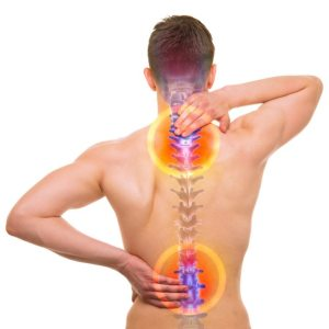 Back Pain due to Spinal Injuries and Layered Compensations