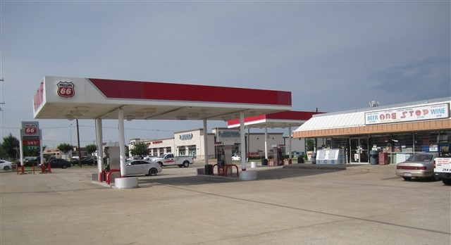 Gas Station in Lucas, Texas