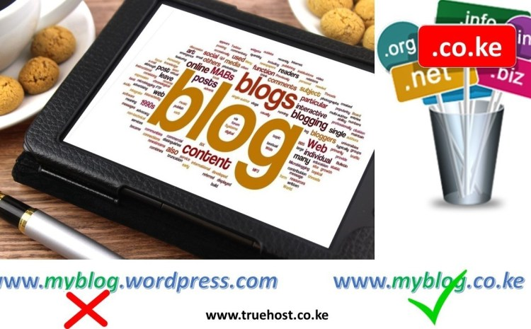 domain for your blog