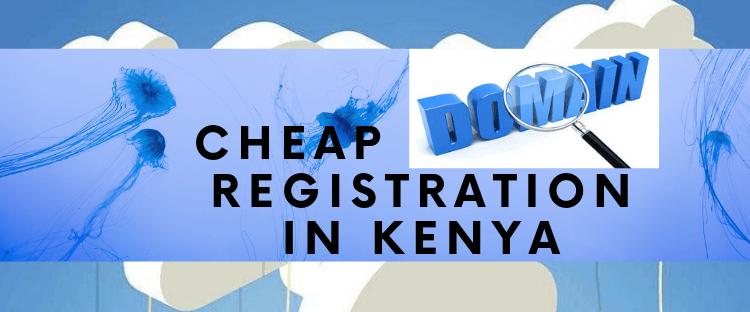 Cheap Domain Registrars in Kenya