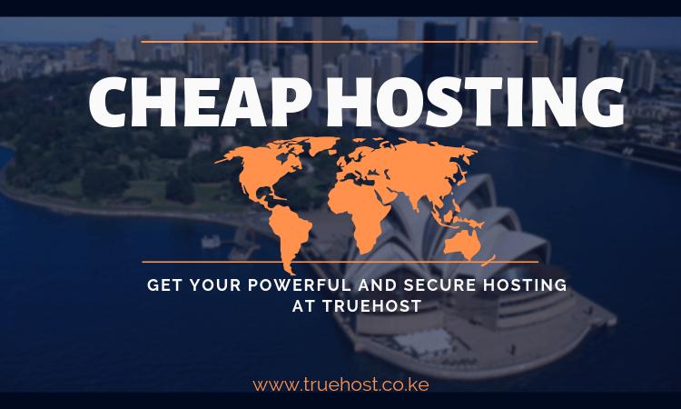 Cheap hosting in Kenya