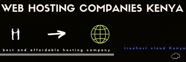 Webhosting companies in Kenya