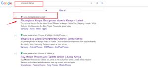 eCommerce website in Kenya
