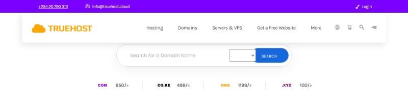 how to make website in Kenya.