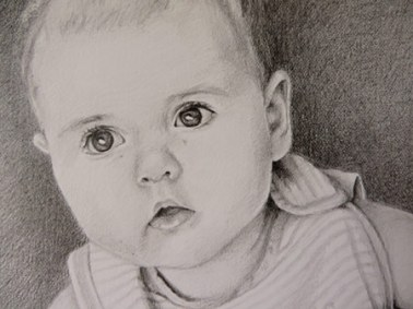 baby drawing detail