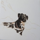 labrador painting step 1