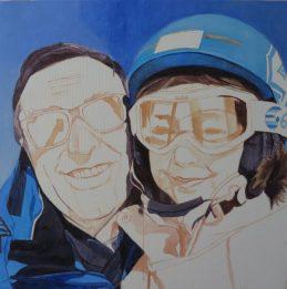 family painting progress 2