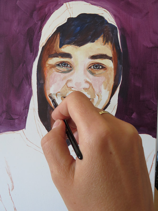 portrait progress