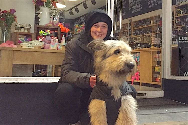 Homeless Woman And Her Dog Stop Burglary, Are Rewarded With Thousands Of Dollars For New Home
