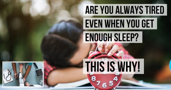 5 Reasons Why You Always Feel Tired Even After Your Snore Fests