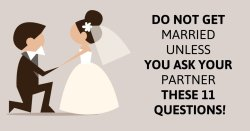 Do Not Get Married Unless You Ask Your Partner These 11 Questions! – Uplifting Stream