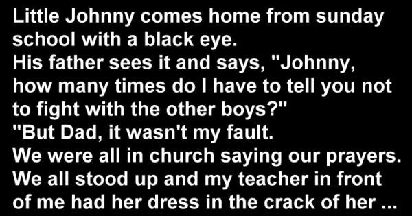 Hilarious Joke: Little Johnny At Sunday School