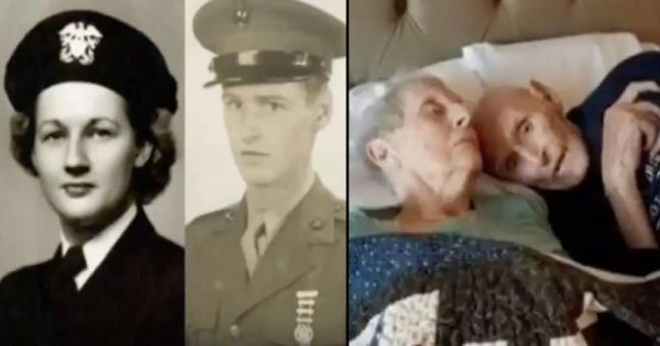 This WWII Veteran Couple Died on the Same Day After Fulfilling Their Lifelong Wish