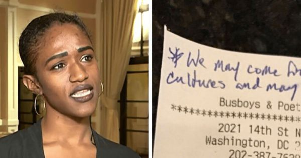 Waitress Left Shocked After She Finds This Note Cowboys Left Her on Receipt