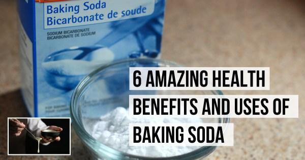 6 Amazing Health Benefits and Uses of Baking Soda