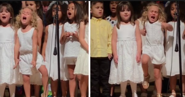 Little Girl Steals The Show By Doing This One Thing, Everyone Hurrys To Get Their Camera