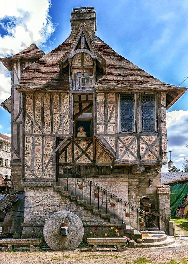 Medieval home located in the Village of Argentan, France.