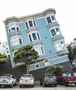 Slanted Road or Slanted House?